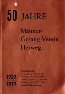 Festschrift 50 Jahre MGV