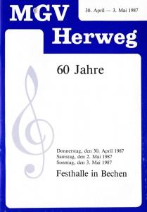 Festschrift 60 Jahre MGV